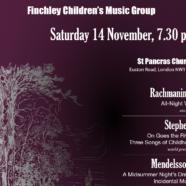 November 14th Concert Details